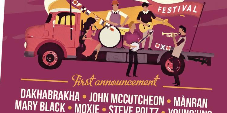 Port Fairy Folk Music Festival Advertising