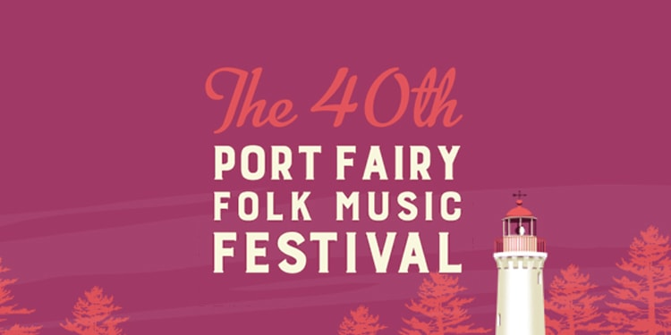 Port Fairy Folk Music Festival Branding
