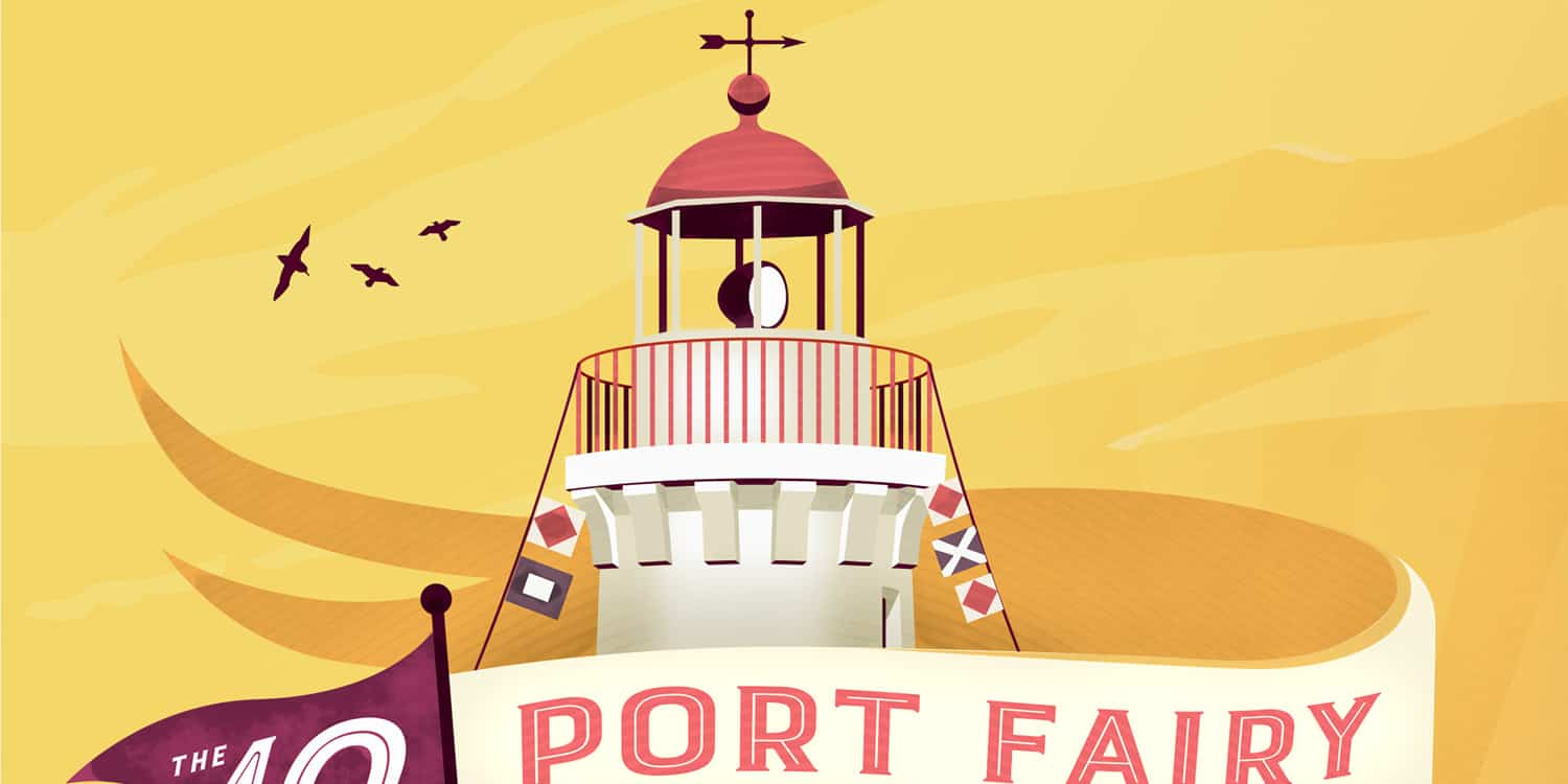Port Fairy Folk Music Festival Illustration