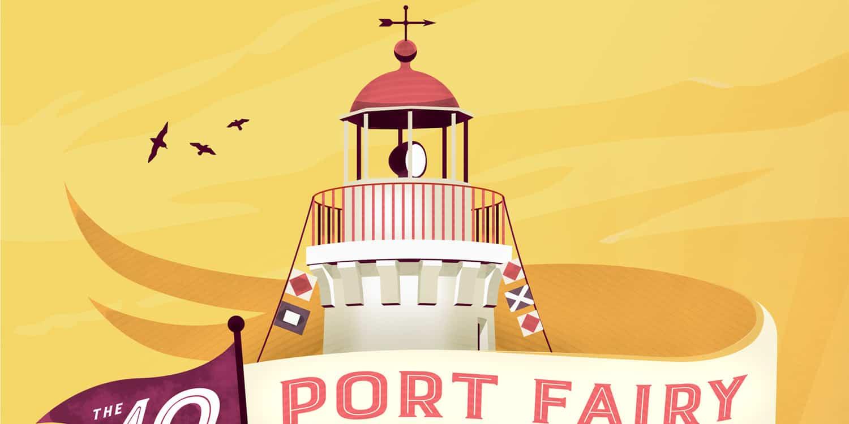 Port Fairy Folk Music Festival Illustration