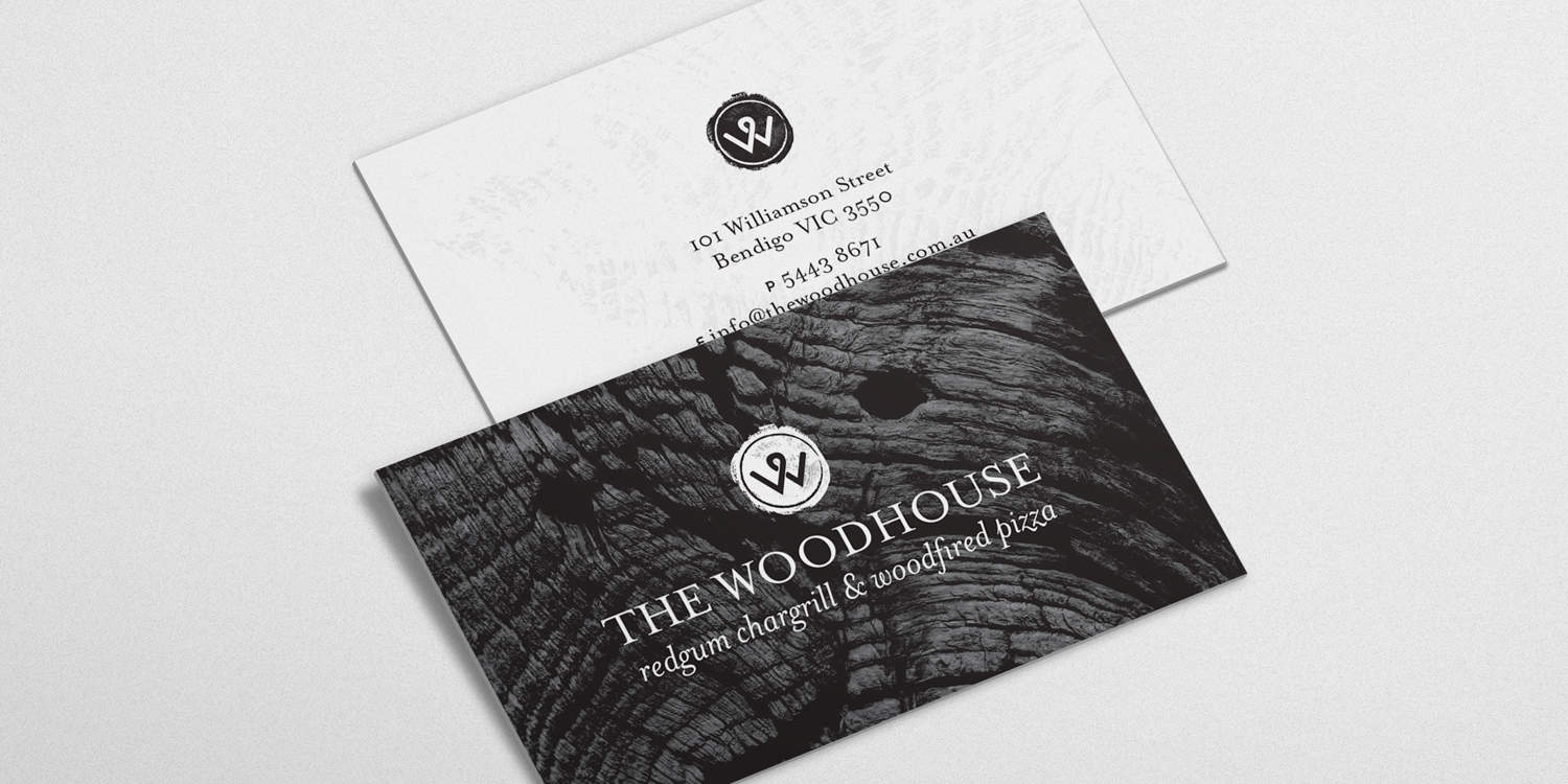 The Woodhouse Business Card
