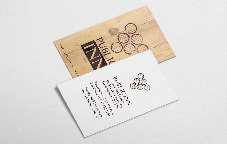 Public Inn Business Cards