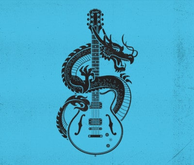 Bendigo Blues & Roots Music Festival Illustration