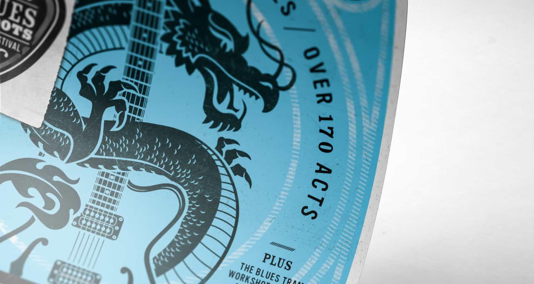 Bendigo Blues & Roots Music Festival Design