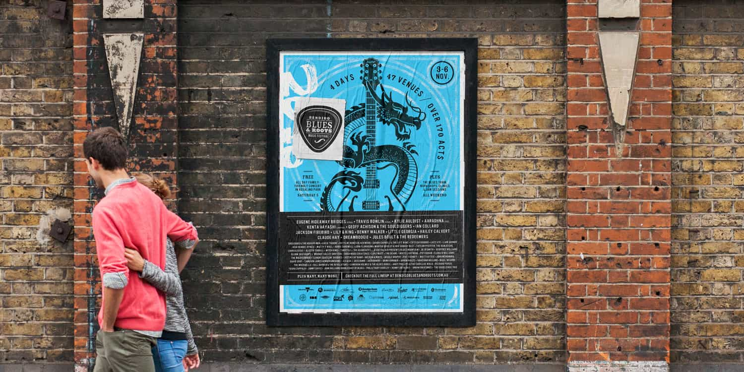 Bendigo Blues & Roots Music Festival Posters