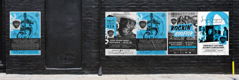 Bendigo Blues & Roots Music Festival Posters