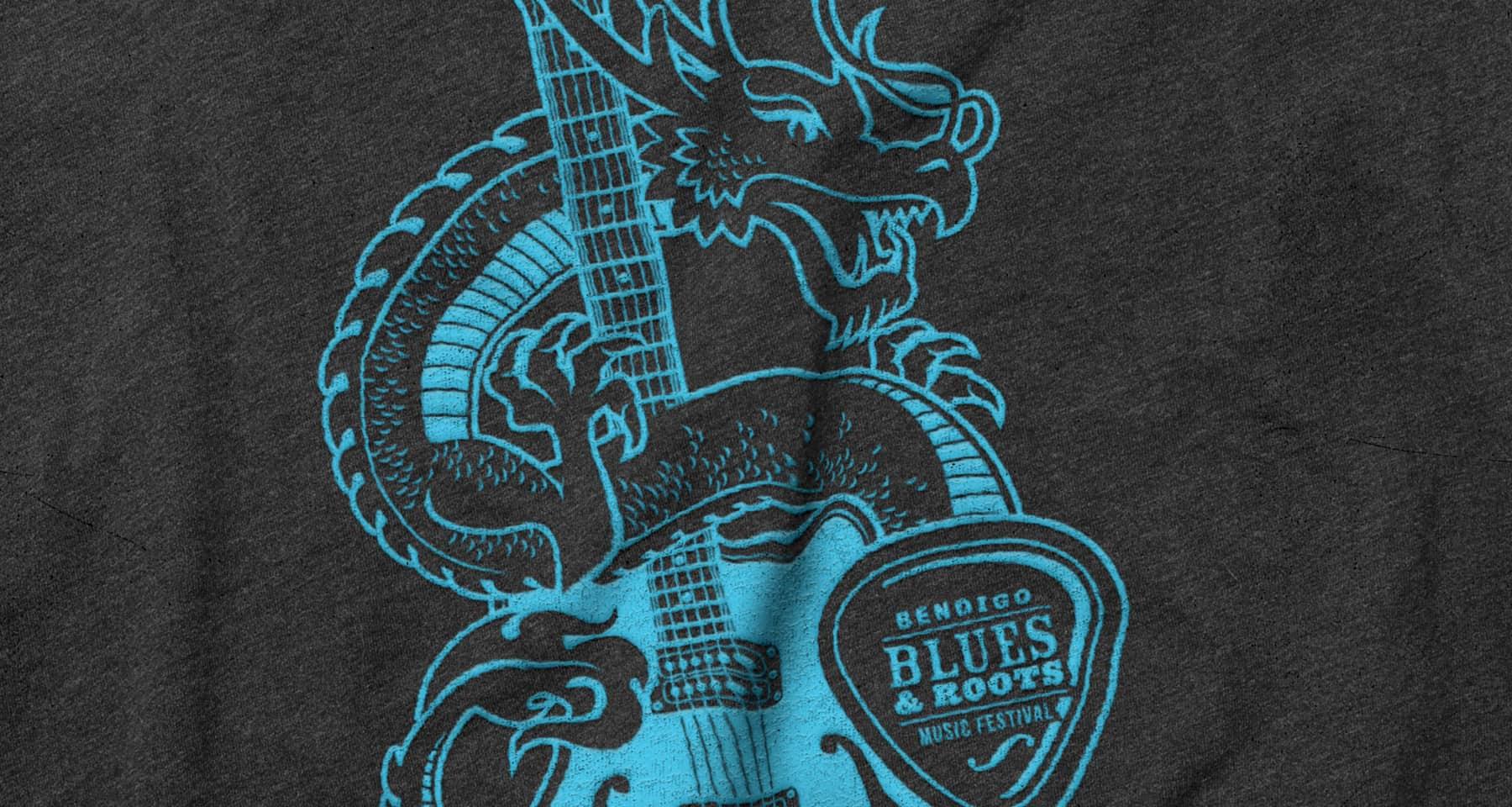 Bendigo Blues & Roots Music Festival Merchandise